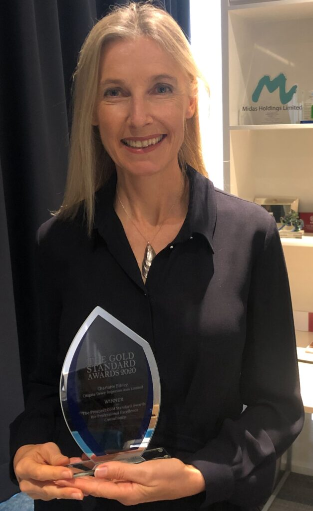 Co-CEO Charlotte Bilney wins Public Affairs Asia's individual award for Professional Excellence 2020