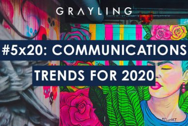 Five top marketing and communications trends for 2020